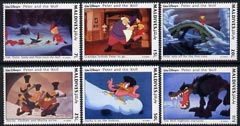 Maldive Islands 1993 scenes from Walt Disney's 'Peter & the Wolf' - short set 6 vals to 1R unmounted mint, SG 1944-49