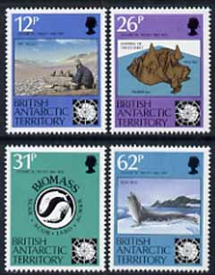 British Antarctic Territory 1991 Antarctic Treaty Anniversary set of 4 unmounted mint, SG 196-99