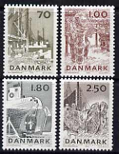 Denmark 1978 Fishing Industry set of 4 unmounted mint, SG 660-63