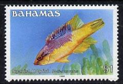 Bahamas 1986-90 Spanish Hogfish $1 (1988 imprint date) unmounted mint, SG 769B