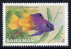 Bahamas 1987 Royal Gramma 45c (1987 imprint date) unmounted mint, SG 795