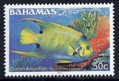 Bahamas 1987 Queen Angelfish 50c (1987 imprint date) unmounted mint, SG 796