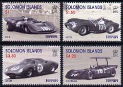 Solomon Islands 1999 Birth Centenary of Enzo Ferrari perf set of 4 unmounted mint, SG 947-50