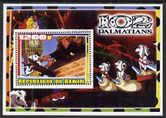 Benin 2005 Disney's 102 Dalmations #2 perf m/sheet fine cto used