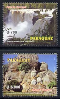 Paraguay 2004 Mundo Guarani National Park perf set of 2 unmounted mint