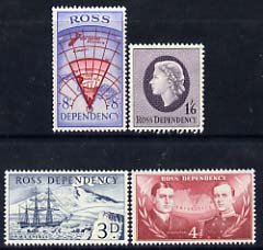 Ross Dependency 1957 �sd set of 4 unmounted mint SG 1-4