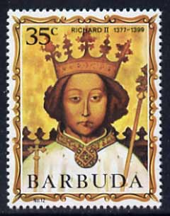 Barbuda 1970-71 English Monarchs SG 53 Richard II unmounted mint*