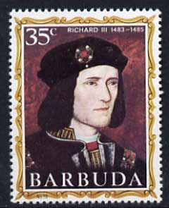 Barbuda 1970-71 English Monarchs SG 59 Richard III unmounted mint*