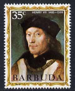 Barbuda 1970-71 English Monarchs SG 60 Henry VII unmounted mint*