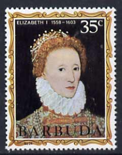 Barbuda 1970-71 English Monarchs SG 65 Elizabeth II unmounted mint*