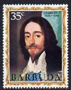 Barbuda 1970-71 English Monarchs SG 67 Charles I unmounted mint*