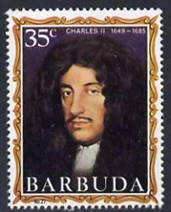 Barbuda 1970-71 English Monarchs SG 68 Charles II unmounted mint*