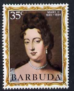 Barbuda 1970-71 English Monarchs SG 71 Mary II unmounted mint*