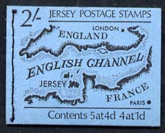 Booklet - Jersey 1969-70 Map 2s booklet complete SG SB1