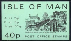 Booklet - Isle of Man 1974 Monk