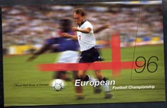 Booklet - Great Britain 1996 European Football Championship \A36.48 Prestige booklet complete and very fine, SG DX18