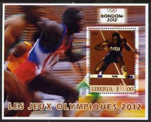 Liberia 2005 London Olympics (2012) perf m/sheet fine cto used