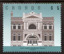 Canada 1991-96 Public Library $5 unmounted mint SG1481