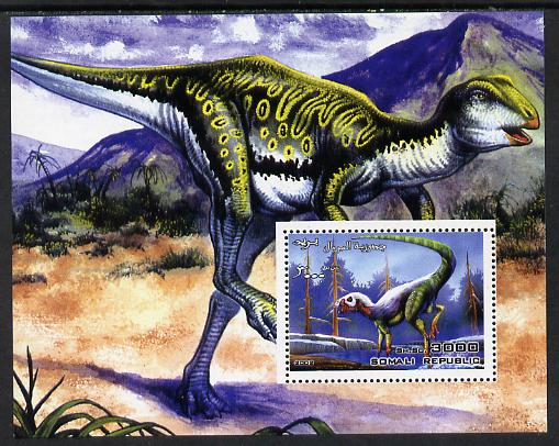 Somalia 2002 Dinosaurs perf s/sheet #9 unmounted mint