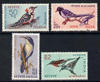 India 1968 Birds set of 4 unmounted mint, SG 578-81
