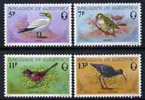 Guernsey 1978 Birds perf set of 4 unmounted mint SG 169-72