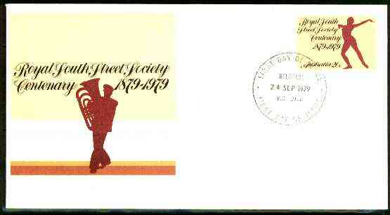 Australia 1979 Royal South Street Society 20c postal stationery envelope with first day cancellation
