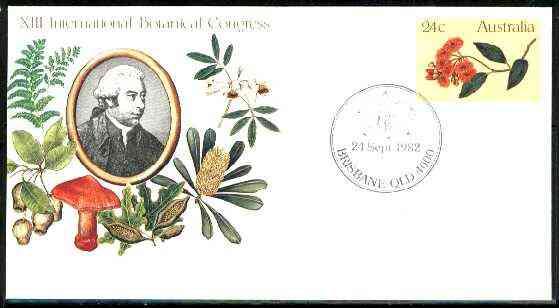 Australia 1981 International Botanical Congress 24c postal stationery envelope with special
