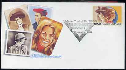 Australia 1980 Centenary of the YWCA 22c postal stationery envelope with special illustrated first day cancellation