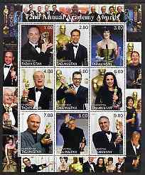 Tadjikistan 2000 The 72nd Academy Awards perf sheetlet containing set of 9 values unmounted mint