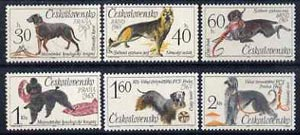 Czechoslovakia 1965 Canine Events set of 6 unmounted mint, SG 1493-98