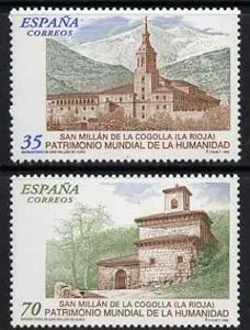 Spain 1999 World Heritage Sites set of 2 unmounted mint, SG 3595-96