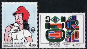 France 1983 Philatelic Creations set of 2  unmounted mint, SG2578-79