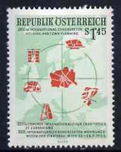 Austria 1956 23rd Town Planning Congress 1.45s unmounted mint, SG 1284