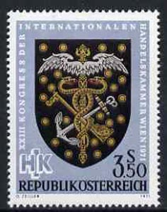 Austria 1971 International Chamber of Commerce Congress 3s 50 unmounted mint, SG1608