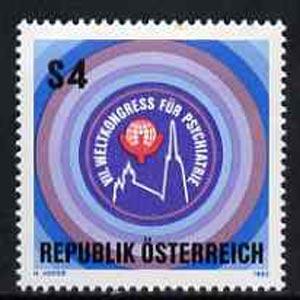 Austria 1983 World Psychiatry Congress unmounted mint, SG1969