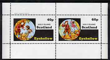 Eynhallow 1982 Fairy Tales (Robinson Crusoe) perf set of 2 values unmounted mint