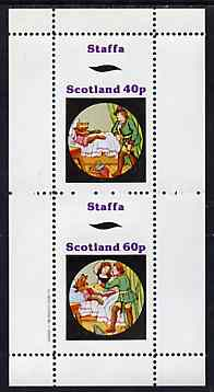 Staffa 1982 Fairy Tales (Little Red Riding Hood) perf set of 2 values unmounted mint