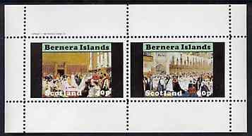 Bernera 1982 Life & Times of Queen Victoria (Royal Weddings) perf set of 2 values unmounted mint