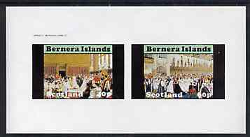 Bernera 1982 Life & Times of Queen Victoria (Royal Weddings) imperf set of 2 values unmounted mint