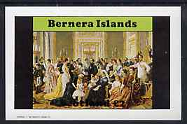 Bernera 1982 Life & Times of Queen Victoria (Family Group) imperf deluxe sheet (�2 value) unmounted mint