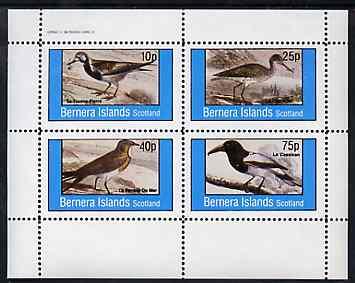 Bernera 1982 Birds #38 perf set of 4 values unmounted mint