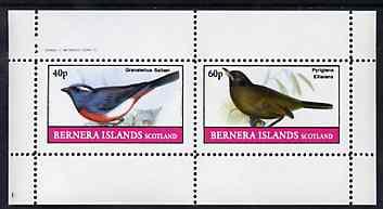Bernera 1982 Birds #46 perf set of 2 values unmounted mint