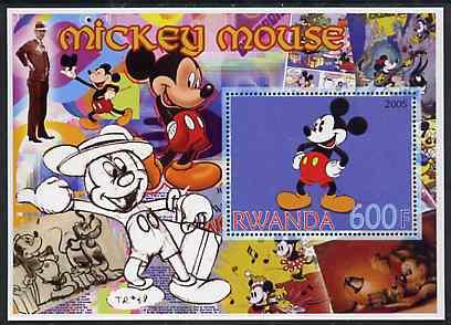 Rwanda 2005 Disney's Mickey Mouse perf m/sheet unmounted mint
