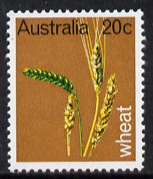 Australia 1969 Primary Industries 20c (Wheat) unmounted mint SG 442*, stamps on agriculture, stamps on food, stamps on wheat