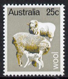 Australia 1969 Primary Industries 25c (Wool) unmounted mint SG 443*