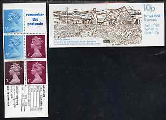 Booklet - Great Britain 1978-79 Farm Buildings #2 (Northern Ireland) 10p booklet complete, SG FA54