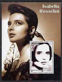 Benin 2002 Isabella Rossellini perf s/sheet #01 unmounted mint
