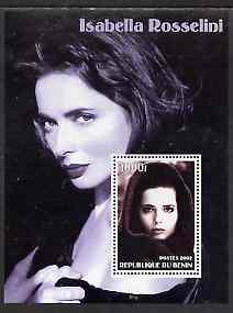 Benin 2002 Isabella Rossellini perf s/sheet #02 unmounted mint