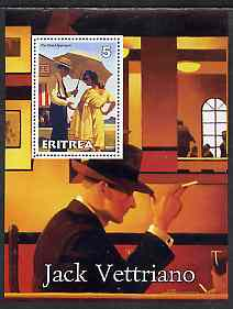 Eritrea 2001 Art of Jack Vettriano #1 perf s/sheet unmounted mint