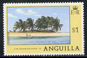 Anguilla 1977-78 Sandy Island $1 (from def set) unmounted mint, SG 286